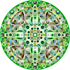 Mandala of Archangel Raphael, 2007