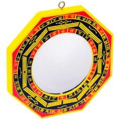 Feng shui bagua peegel, nõgus