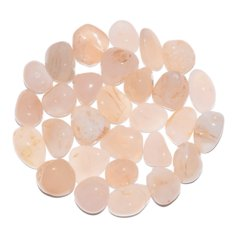 Pink Chalcedony, tumbled (1 piece)