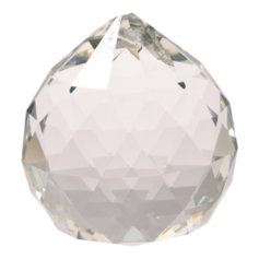 Kristallist kerakujuline feng shui päikesepüüdja, läbipaistev (3 cm)