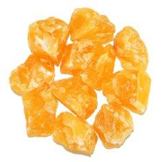 Kaltsiit, oranž, lihvimata (1 tk)