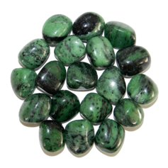 Zoisite, tumbled (1 piece)