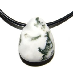 Tree Agate, Drilled