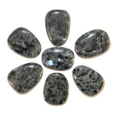 Larvikiidist lapik kivi (1 tk)