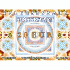 Valgusesaare kinkekaart 20 EUR