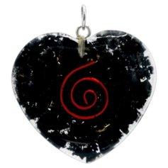 Šungiidiga südamekujuline orgon-ripats