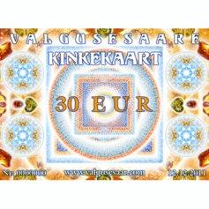 Valgusesaare kinkekaart 30 EUR
