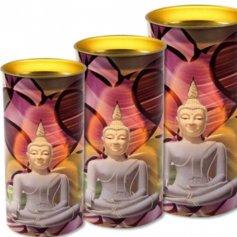 Mediteeriva Buddhaga küünal (1 tk)