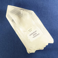 Lemurian Quartz point 006
