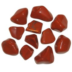 Red Jasper, tumbled (1 piece)