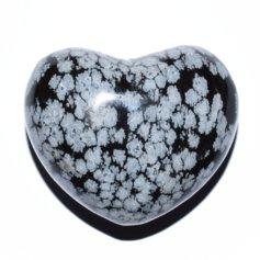 Lumiobsidiaanist süda, 4,5 cm