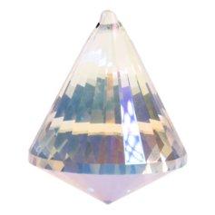 Kristallist koonusekujuline feng shui päikesepüüdja, vikerkaarevärviline 2