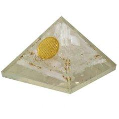 Seleniidi ja elulillega orgon püramiid