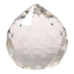 Kristallist kerakujuline feng shui päikesepüüdja, läbipaistev (4 cm)