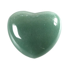 Aventuriinist süda, 4,5 cm (1 tk)