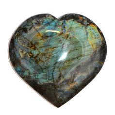 Labradorite Heart, (1 piece)